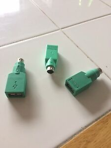 3 - PS/2 to USB adapters