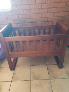 Cot and cradle