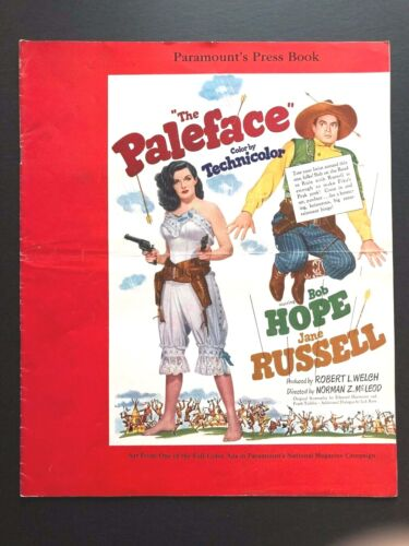 """The Paleface Original Pressbook (Hope/Russell,1948)-24 Pages - 12.5"""" x 15""""  EX"""