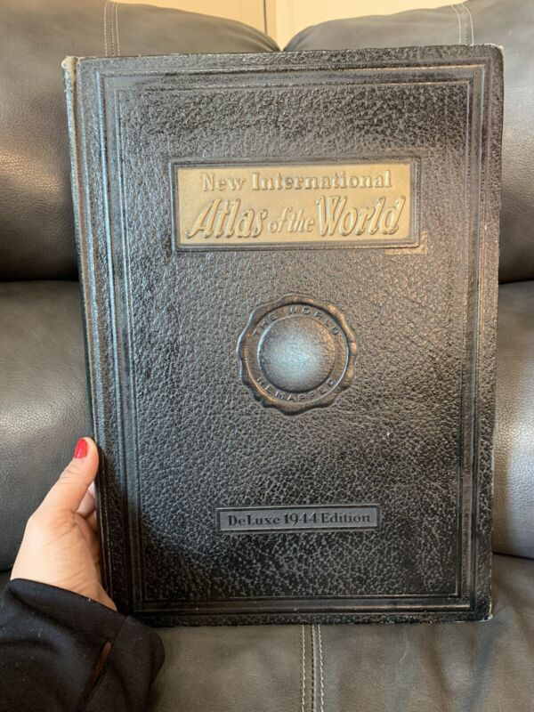 New International Atlas Of The World , Deluxe 1944 War Edition, Maps