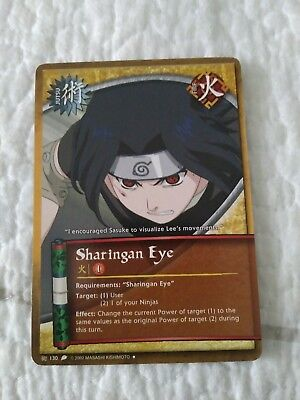 Sharingan Eye card (Naruto collectible card game)