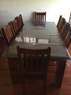 8 Seater Timber Dining Table