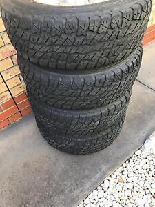 79 series land cruiser wheels and tyres Hallett Cove Marion Area Preview