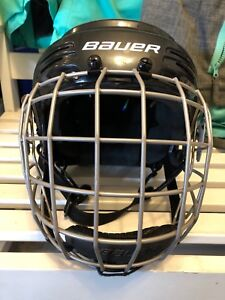 Bauer Kids / Youth Small Hockey Helmet with Cage