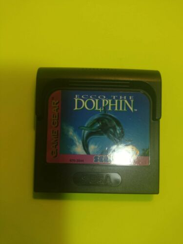 (Free Shipping!!!)**ECCO THE DOLPHIN** Sega Game Gear + Case