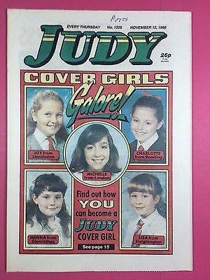 JUDY - Stories For Girls - No.1505 - November 12, 1988 - Comic Style Magazine