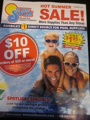 Discount Catalogues (IN THE SWIM CATALOG SUMMER 2017 DISCOUNT POOL SUPPLIES & EQUIPMENT BRAND)