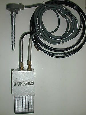 Buffalo Dental Lab Air Driven Handpiece System With Emesco Handpiece.