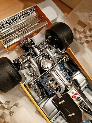 1980 F1 Renault RE20 Turbo#16 Grand Prix France Exoto 1:18 Diecast Model Car