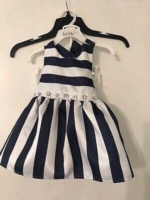 Baby Girl Dresses Special Occasion (12 Months Baby Girl Holiday Party Special Occasion Dress Navy Blue And)