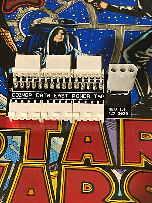 Data East 12V / 5V pinball power tap
