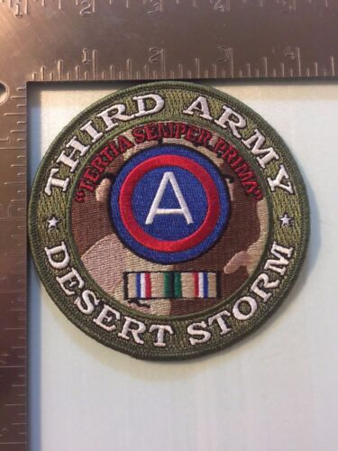 US ARMY THIRD ARMY DESERT STORM PATCH (MP)