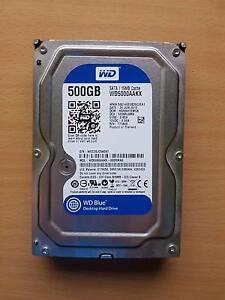 HDD: WD 500GB Blue Hard Drive Glandore Marion Area Preview