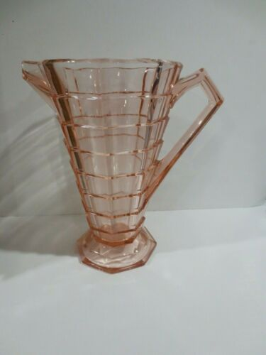 Pink Indiana Depression Glass Tea Room Pitcher Excellent
