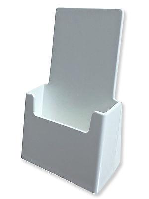 Brochure Holder High Quality White Acrylic New Literature Display Rack
