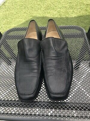 Mens Versace Black Shoes Size UK10 (44)