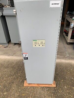Asco Automatic Transfer Switch 225 Amps 480277 Volts 60hz 3 Phase A300322591xc