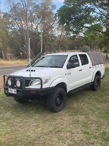 2011 Toyota Hilux Sr (4x4) 4 Sp Automatic Dual Cab P/up
