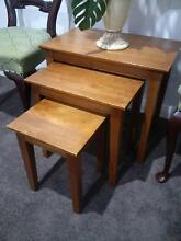 Nest of Tables, Solid Timber. Also Armchairs, Coffee Table fr $75 Pitt Town Hawkesbury Area Preview
