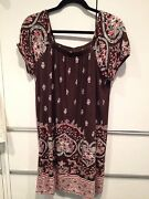 Ann Taylor Loft Brown Dress