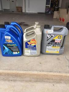 engine oils mixed lot Nambour Maroochydore Area Preview