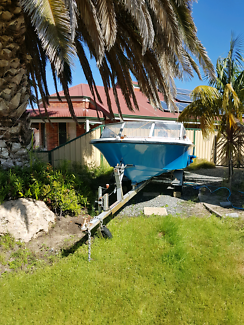 14ft allrounder boat and trailer