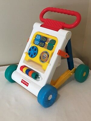 Fisher Price Folding Baby Walker Toddler Play Learning Educational Toy