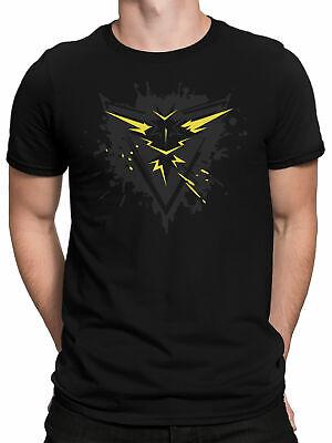 T-Shirt - Team Gelb Premium - Gaming Trainer-Shirt Instinct (Team Gelb)