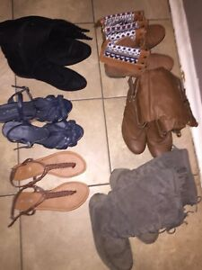 Boots & wedges!