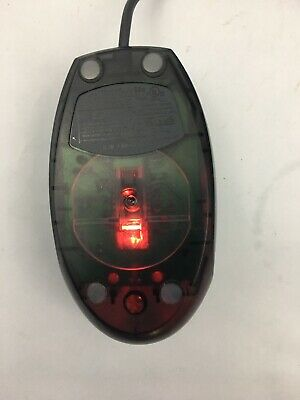 Vintage Logitech Mini Optical Mouse Wired Silver Gray   M-UV55a Logitech Mini Optical Mouse