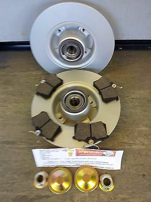 MK2 RENAULT MEGANE REAR BRAKE DISCS & PADS c/w BEARINGS, ABS RINGS,HUB NUTS