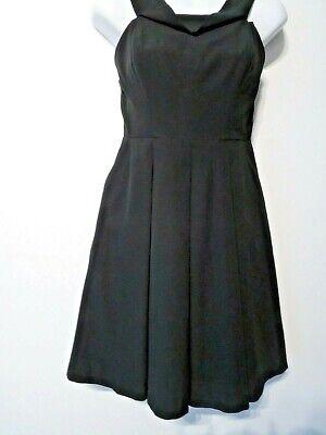 Yumi Kim Women's Black Silk Fit Flare StRappy PleaT OFF THE SHOULDER S NWT 189
