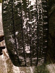 2 tires on rims 265 70 16 200$