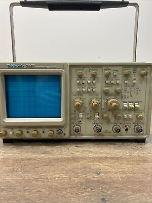 Tektronix Model 2445 150mhz 4-channel Analog Oscilloscope Tested And Working