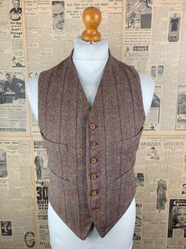 Vintage brown tweed 1940