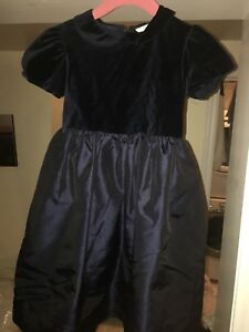 Girls H&M Navy Dress Size 4/5