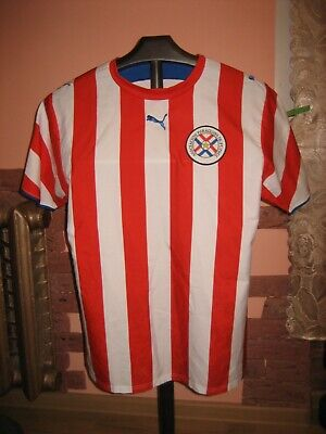 PARAGUAY Football National Team Puma Home 2006/07 Jersey/Shirt size S(Adult) image