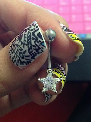Different Belly Button Ring Material Types Ebay