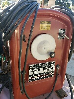Lincoln Idealarc 250 Arc Welder Single Phase 518ch