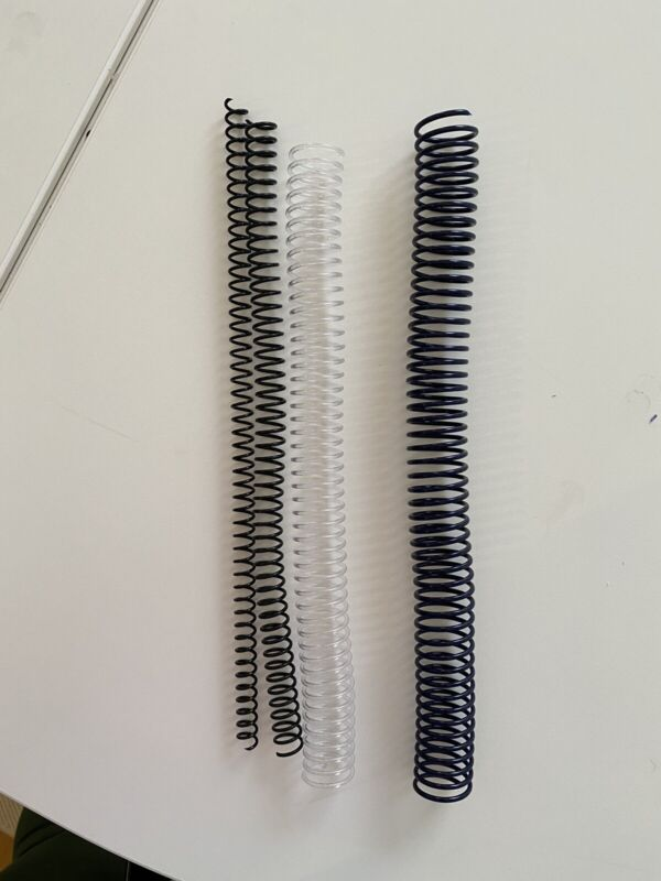 Binding Coils various Sizes 4:1 Pitch New- Open Box