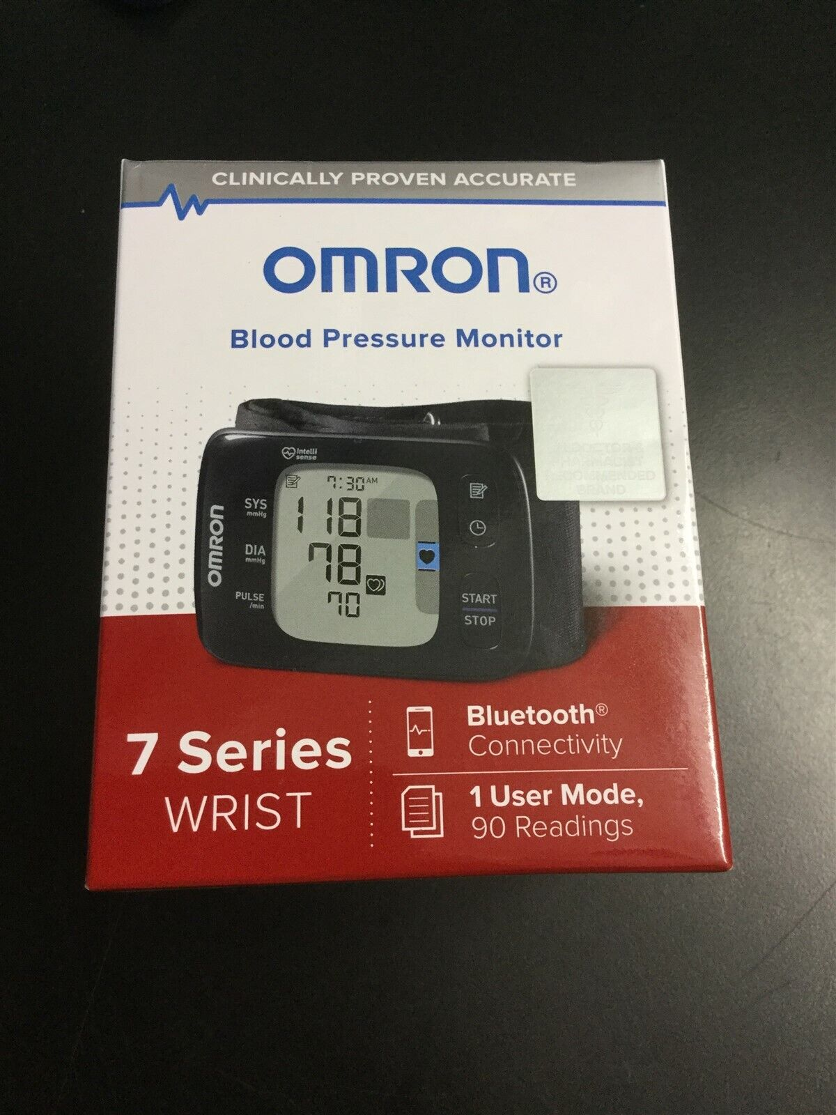 Omron Series 7 Blood Pressure Monitor - 073796266356