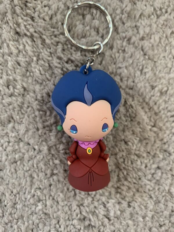 Disney Villains Lady Tremaine Cinderella Collectible Keychain Key Chain Ring