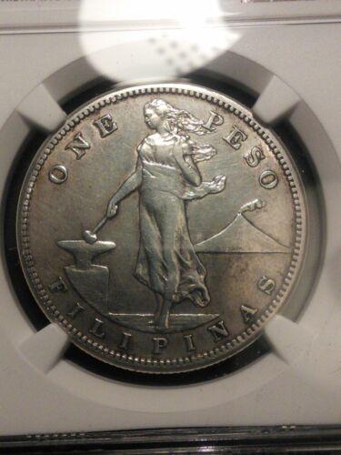 U.S. Philippines 1912-S Peso NGC
