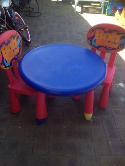 Bin the builder table n 2 chairs Marangaroo Wanneroo Area Preview