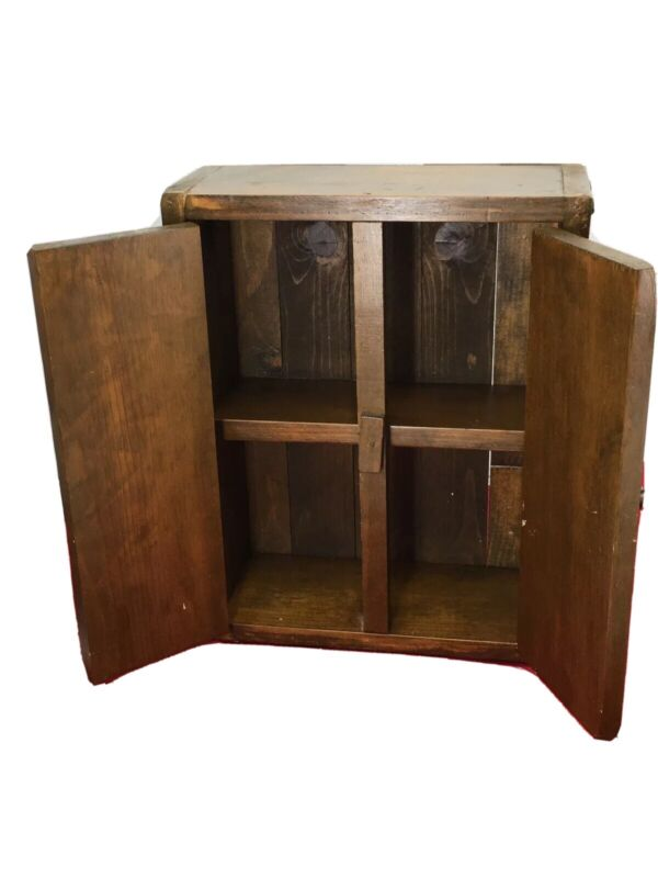Stunning Old/ Vintage Hanging Wall Cabinet
