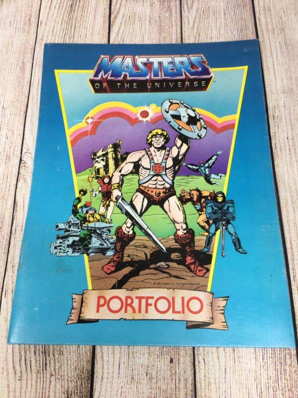 MASTERS OF THE UNIVERSE-HE MAN SCHOOL FOLDER PORTFOLIO- EXCELLENT 1983