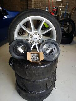 Ford Falcon FG XR6 Wheels & Tyres