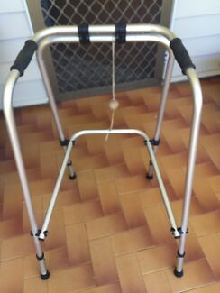 Orthocare crutches an WALKING FRAME BOTH$35
