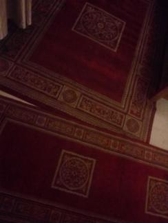 Turkish rug and runner