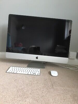 Apple iMac 27 inch-2.7GHz Core i5-8GB DDR RAM-AMD Radeon 512mb Graphics-Mid 2011